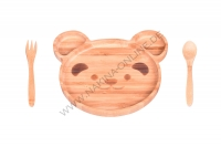 Teddy - 3 Pcs Baby Food Set