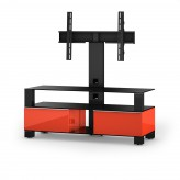 Sonorous TV-Furniture Saragossa MD8123-B-HBLK-RED