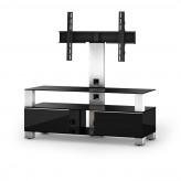 Sonorous TV-Furniture Saragossa MD8123-B-INX-BLK