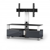 Sonorous TV-Furniture Saragossa MD8123-B-INX-GRP