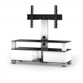 Sonorous TV-Furniture Saragossa MD8123-B-INX-WHT